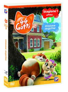 44 gatti vol.3. Missione Dogsitter di Iginio Straffi - DVD
