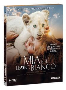 Mia e il leone bianco (Blu-ray + Blu-ray Ultra HD 4K) di Gilles de Maistre - Blu-ray + Blu-ray Ultra HD 4K