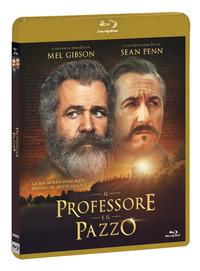 Cover Dvd Il professore e il pazzo (DVD + Blu-ray)