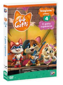 44 gatti vol.4. ll gatto supereroe. Con Card (DVD) di Iginio Straffi - DVD