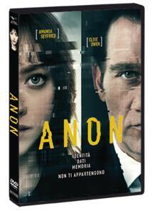 Anon (DVD) di Andrew Niccol - DVD