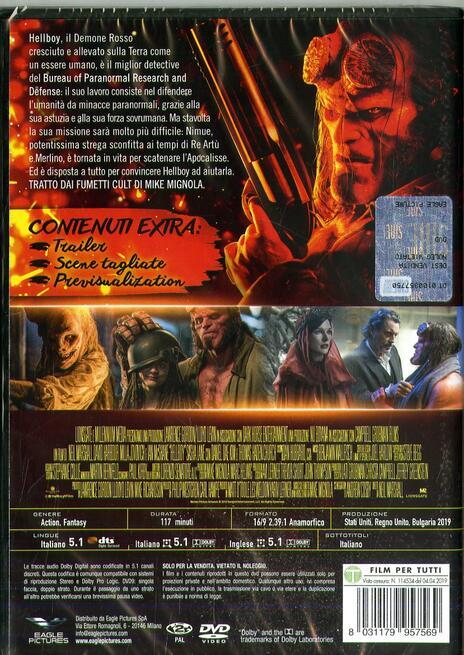 Hellboy. Con card da collezione (DVD) di Neil Marshall - DVD - 2