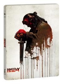 Cover Dvd Hellboy. Con Steelbook e card da collezione (DVD + Blu-ray)