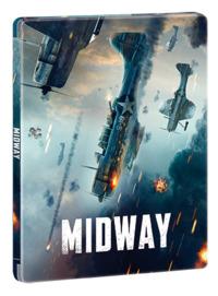 Cover Dvd Midway. Con Steelbook (Blu-ray + Blu-ray Ultra HD 4K)