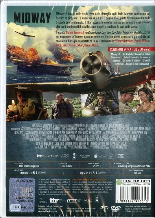 Midway (DVD) di Roland Emmerich - DVD - 2