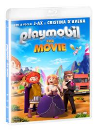 Cover Dvd Playmobil. The Movie. Con Booklet gioca e colora (DVD + Blu-ray)