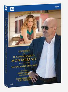 Il commissario Montalbano. Salvo Amato Livia mia. Serie TV ita (DVD) di Alberto Sironi,Luca Zingaretti - DVD