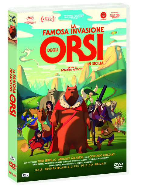 La famosa invasione degli orsi in Sicilia. Con gioco degli orsi (DVD) di Lorenzo Mattotti - DVD