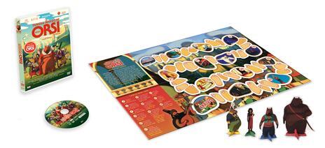 La famosa invasione degli orsi in Sicilia. Con gioco degli orsi (DVD) di Lorenzo Mattotti - DVD - 2