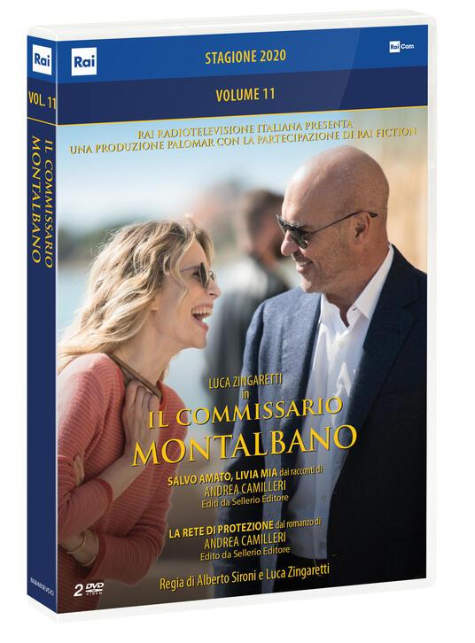 Il commissario Montalbano vol.11. Stagione 2020. La rete di protezione -  Salvo amato, Livia mia (DVD) di Luca Zingaretti,Alberto Sironi - DVD