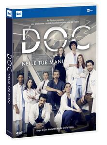 Doc. Nelle tue mani. Serie TV ita (4 DVD) di Jan Maria Michelini - DVD