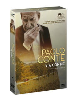 Film Paolo Conte. Via con me (DVD) Giorgio Verdelli