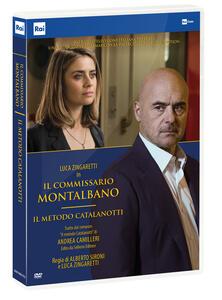Film commissario Montalbano. Il metodo Catalanotti (DVD) Alberto Sironi Luca Zingaretti