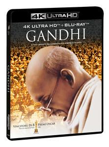 Film Gandhi (2 Blu-ray + 2 Blu-ray Ultra HD 4K) Richard Attenborough