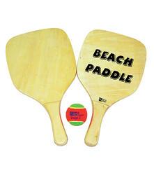 Set Racchettoni Beach Paddle Con Pallina 40X30 Cm. Wild Water Fun 2014