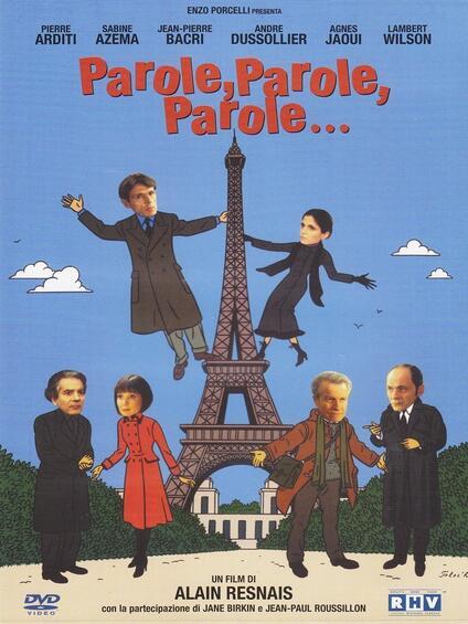 Parole, parole, parole... di Alain Resnais - DVD