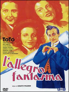 L' allegro fantasma di Amleto Palermi - DVD