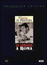 Locandina Un americano a Roma - Un giorno in pretura. Collector Edition