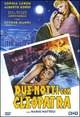 Cover Dvd Due notti con Cleopatra