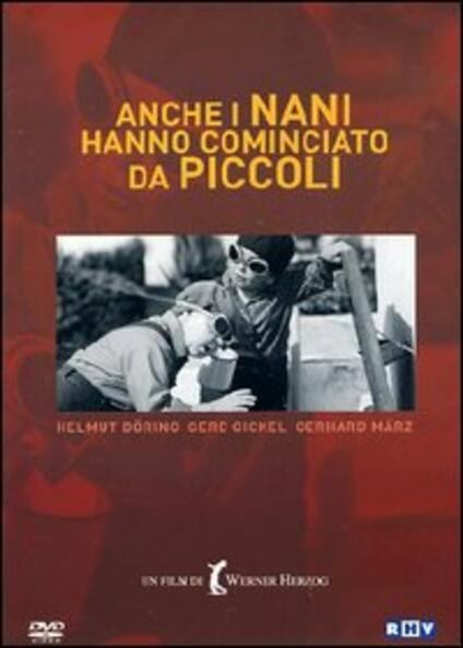 Anche i nani hanno cominciato da piccoli di Werner Herzog - DVD