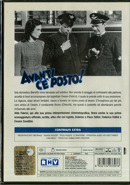 Avanti C Posto.Avanti C E Posto Dvd Film Di Mario Bonnard Commedia Ibs