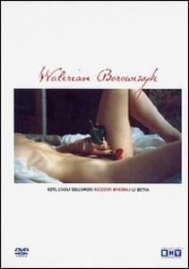 Il cinema erotico di Walerian Borowczyk (3 DVD) di Walerian Borowczyk