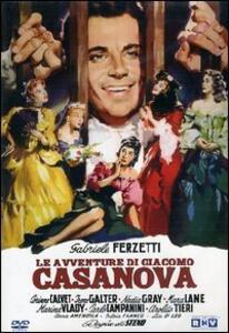 Le avventure di Giacomo Casanova di Steno - DVD