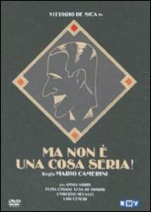 Ma non è una cosa seria di Mario Camerini - DVD