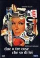 Cover Dvd DVD Due o tre cose che so di lei