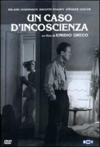 Un caso d'incoscienza di Emidio Greco - DVD