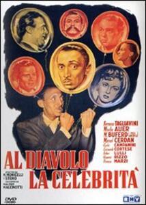 Al diavolo la celebrità di Mario Monicelli,Steno - DVD