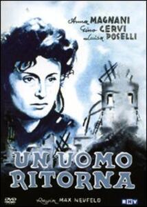 Un uomo ritorna di Massimiliano Neufeld - DVD