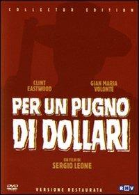 Cover Dvd Per un pugno di dollari
