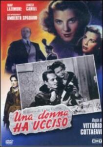 Una donna ha ucciso di Vittorio Cottafavi - DVD