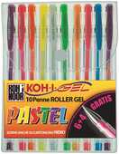Cartoleria Penne Gel Pastel Koh-I-Noor. Astuccio 10 colori pastello assortiti Koh-I-Noor
