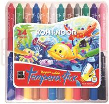 Tempera Stick Koh-I-Noor. Valigetta 24 colori assortiti