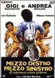 Cover Dvd Mezzo destro mezzo sinistro due calciatori senza pallone