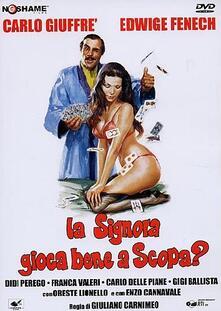 La Signora gioca bene a scopa? (DVD) di Giuliano Carnimeo - DVD