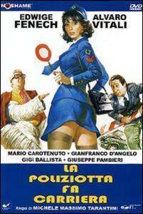 La poliziotta fa carriera di Michele Massimo Tarantini - DVD