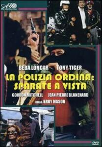 La polizia ordina: sparate a vista di Jerry Mason - DVD