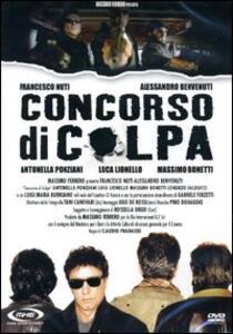 Concorso di colpa di Claudio Fragasso - DVD
