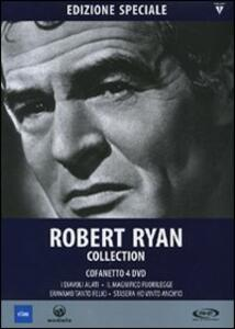 Robert Ryan Collection (4 DVD) di Edward Dmytryk,Nicholas Ray,William D. Russell,Robert Wise