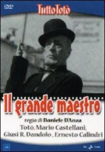 Il grande maestro di Daniele D'Anza - DVD