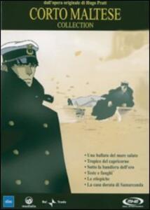 Corto Maltese Collection (6 DVD) di Richard Danto,Liam Saury