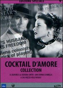 Cocktail d'amore Collection (4 DVD) di George Cukor,Alfred Hitchcock,Henry C. Potter,Mark Rex Sandrich