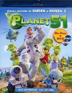 Planet 51 (DVD + Blu-ray) di Javier Abad,Jorge Blanco,Marcos Martínez