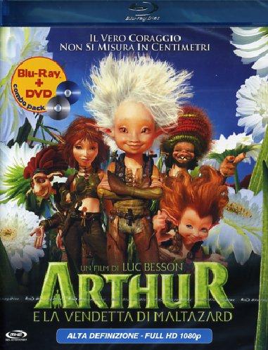 Cover Dvd DVD Arthur e la vendetta di Maltazard