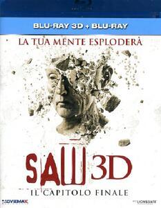 Saw. Il capitolo finale (Blu-ray + Blu-ray 3D) di Kevin Greutert