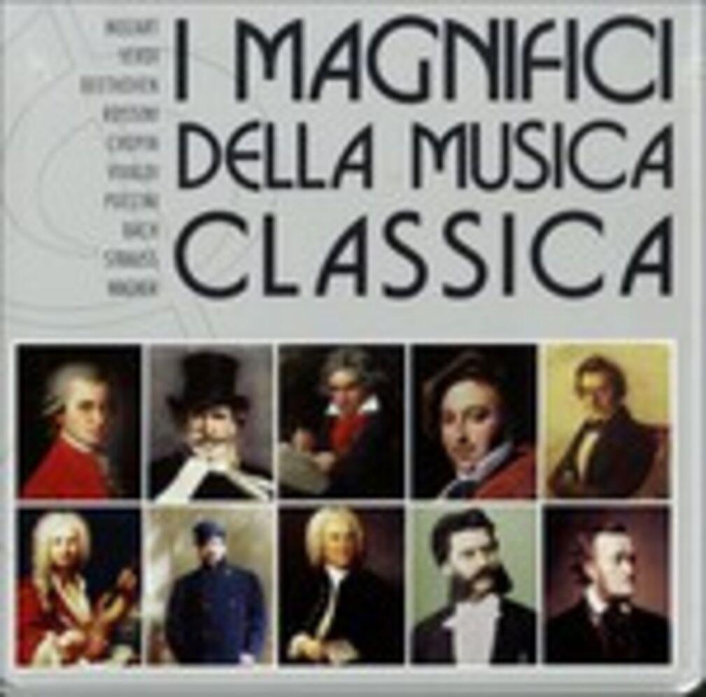 I magnifici della musica classica johann sebastian bach for Musica classica