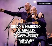 Reunion Live Budapest ( + Book) - CD Audio + DVD di Oliver Onions